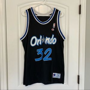 Shaquille O'Neal Vintage Orlando Magic Jersey